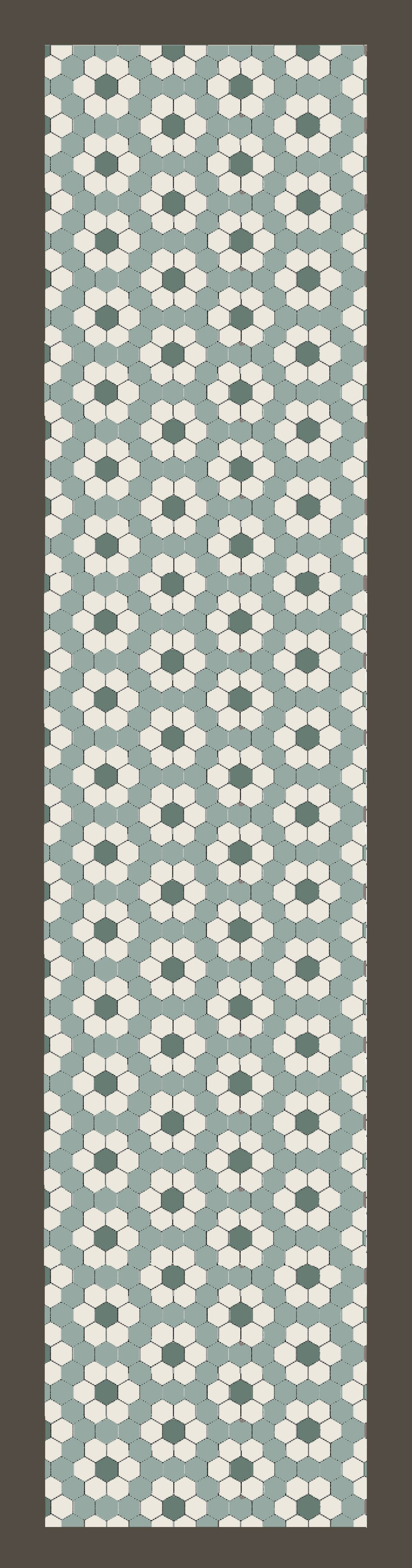 Hexagon Tile Floor Patterns A Hex Upon You Slate Interiors And Gray