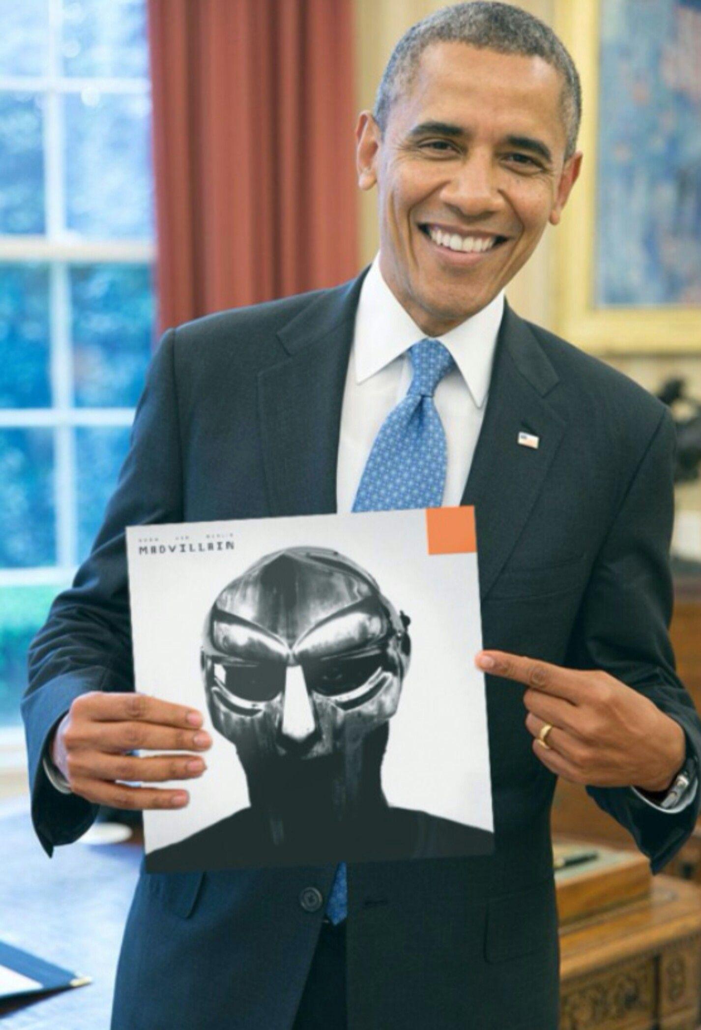 Even President Obama S A Big Mf Doom Fan Hip Hop And R B Kendrick Lamar Kendrick