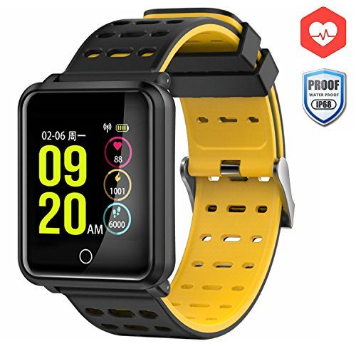 Smart Watch, CanMixs CM05 Heart Rate Monitor Fitness Trac