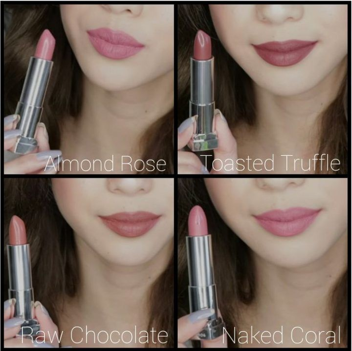 Maybelline IntiMATTE Nudes