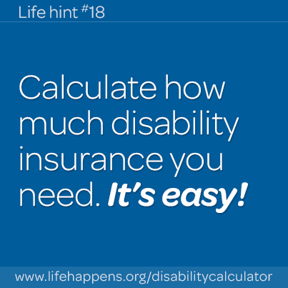 It S Easy Disability Insurance Disability Insurance