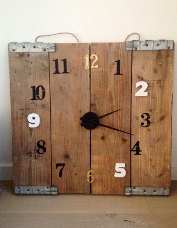 stoere klok - Jongens slaapkamer | Pinterest - Klok, Klokken en ...