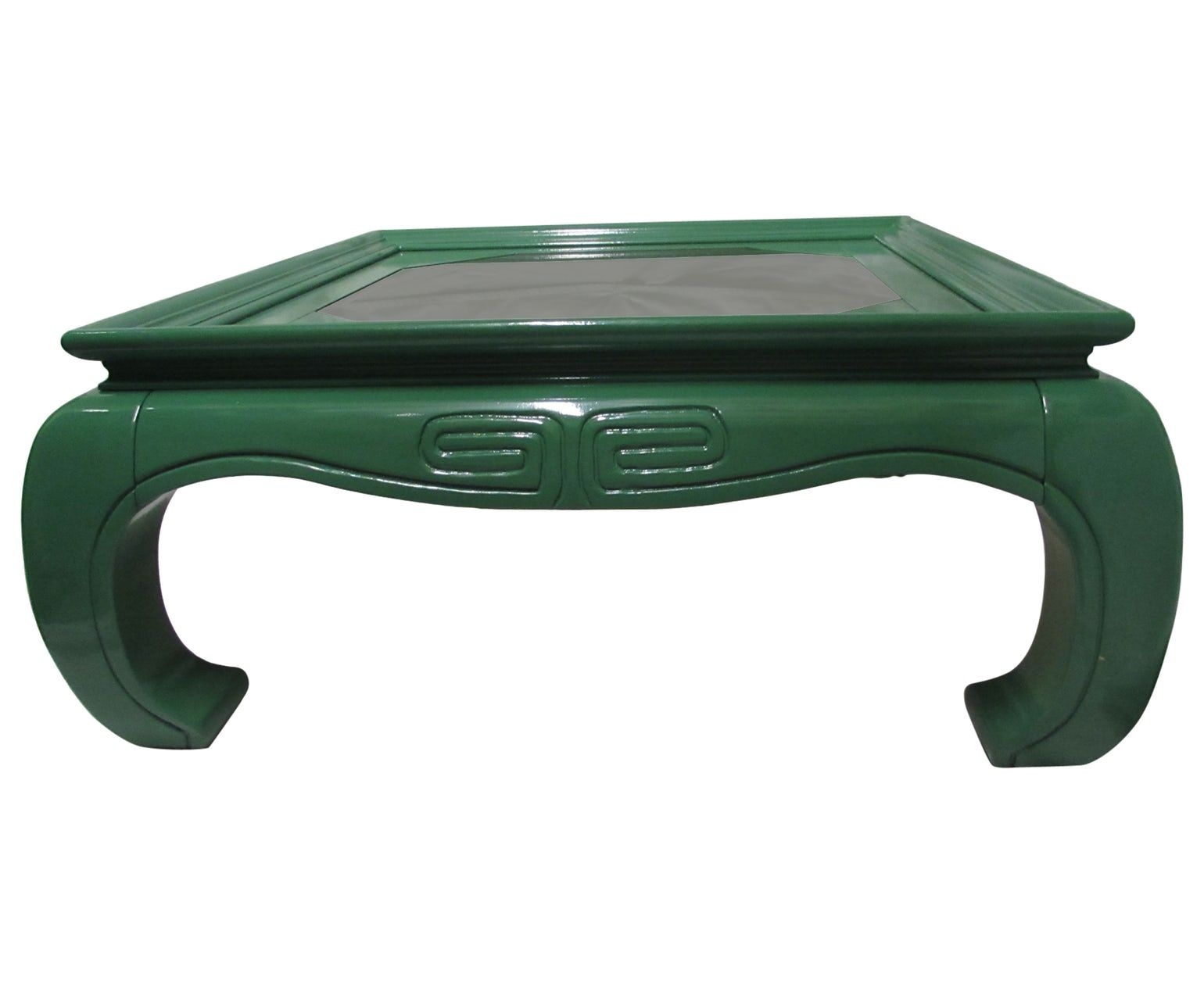 Greek Key Lacquered Coffee Table