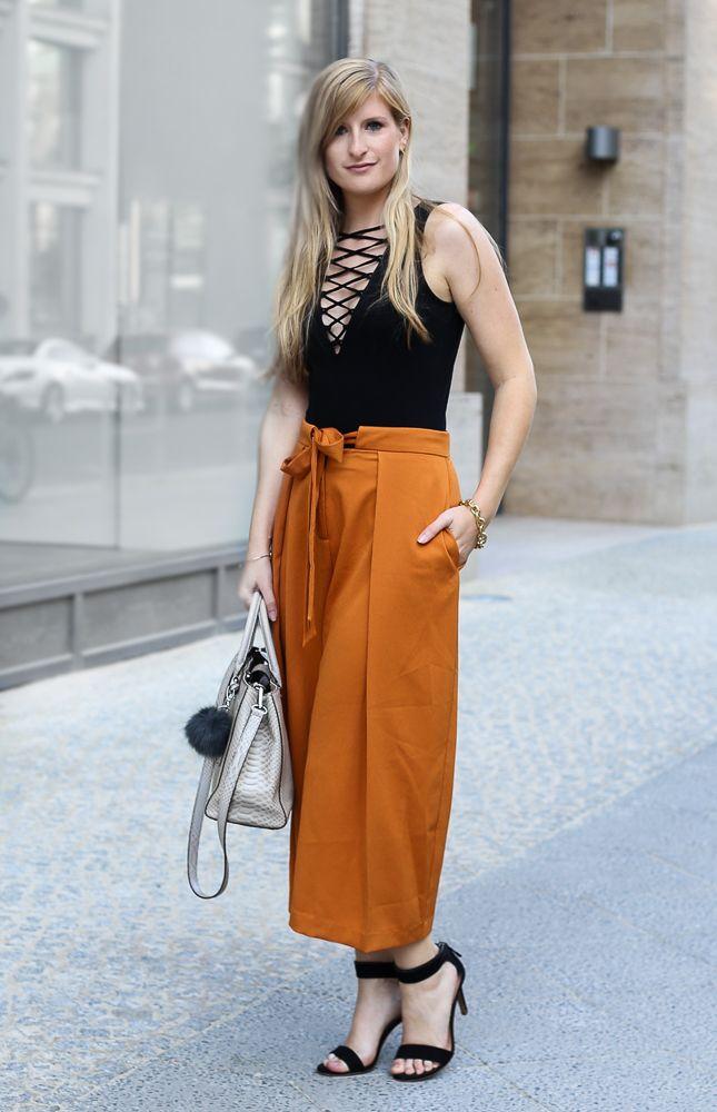 sommertrends 2016 schwarzer schna 1 4 rbody hm orange culotte asos modeblog streetstyle berlin sommertrend summerlook outfit brinisfashionbook http summer trends shoes