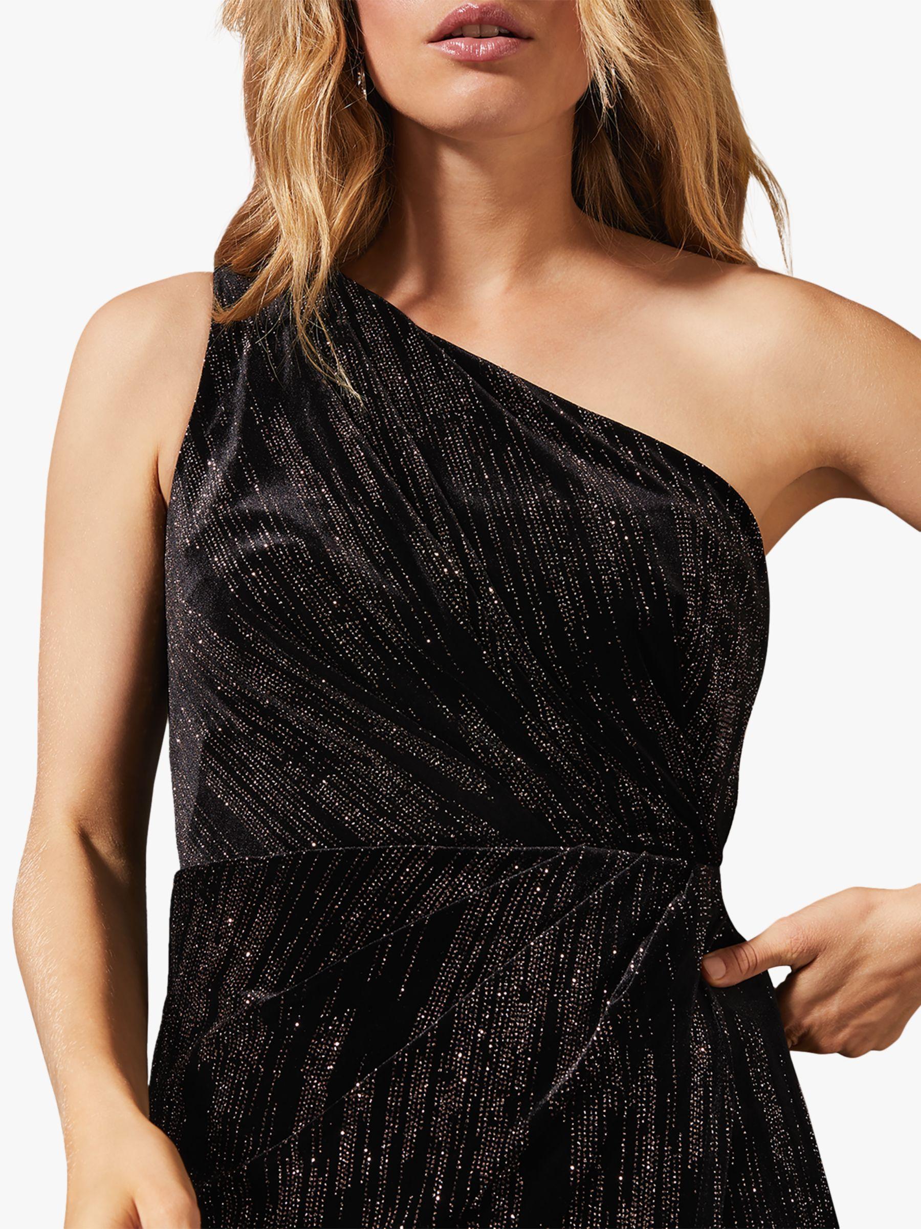 Phase Eight Glitterati Maxi Dress, Black #blackmaxidress