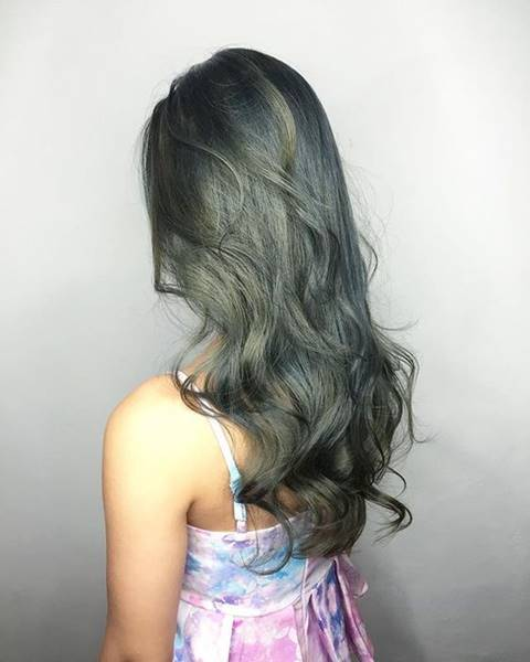 Pin By كوني مميزة On العناية بالشعر Ash Hair Color Ash Green Hair Color Ash Gray Hair Color