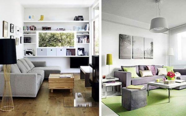de 150 fotos de decoracin de salones modernos - Como Decorar Un Salon Moderno
