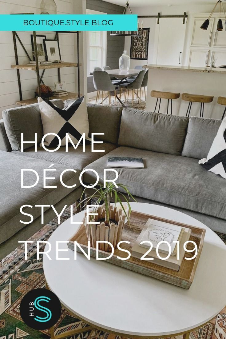 Our favorite fashion trends of 2019 are making their way into homes & we couldn't be more excited!!!  Natural materials, bold colors, and unique textures are big this year. Here are the latest trends from the top bloggers and influencers to help you create a stylish space. #BoutiqueStyle #HomeDecor #HomeDecorIdeas #HomeDecorTrends2019 #HomeDecorStyles #HomeDecorBohemian #HomeDecorModern #HomeDecorFarmhouse #HomeDecorModern #HomeDecorOnABudget #HomeDecorDIY