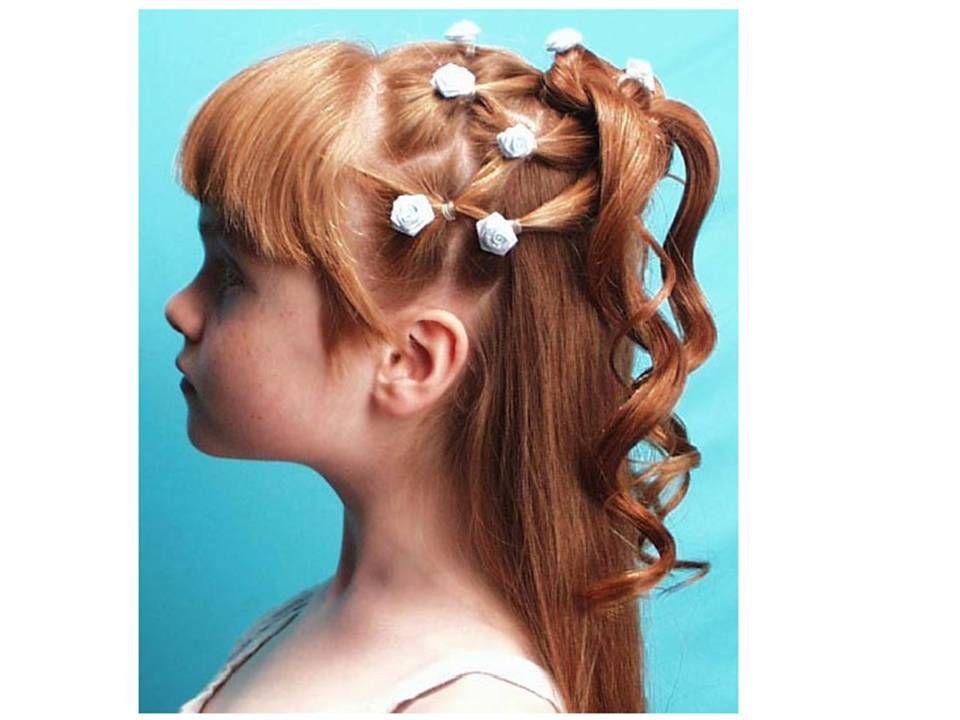 Peinados De Nina Con Chinos Peinados Con Chinos En La Edad