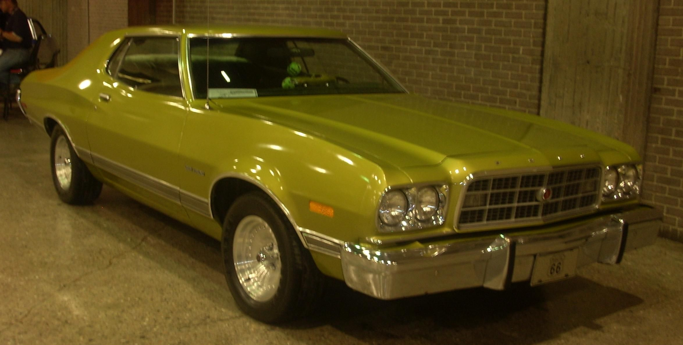 1973 ford gran torino 2 door hardtop