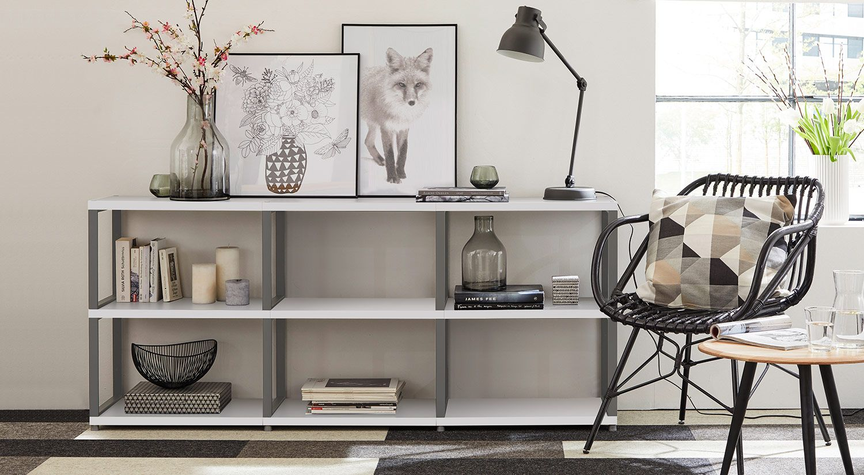 REGALE - für Wohnzimmer, Küche, Kinderzimmer  Regal metall