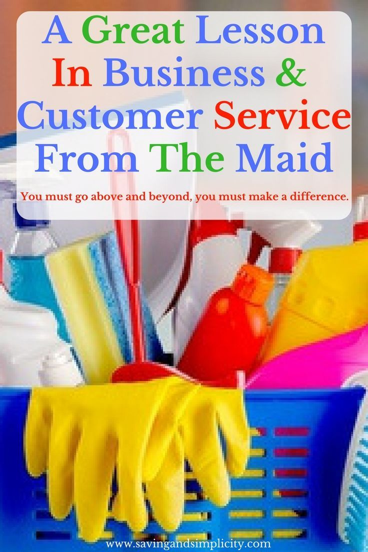 An economics lesson from the maid saving simplicity