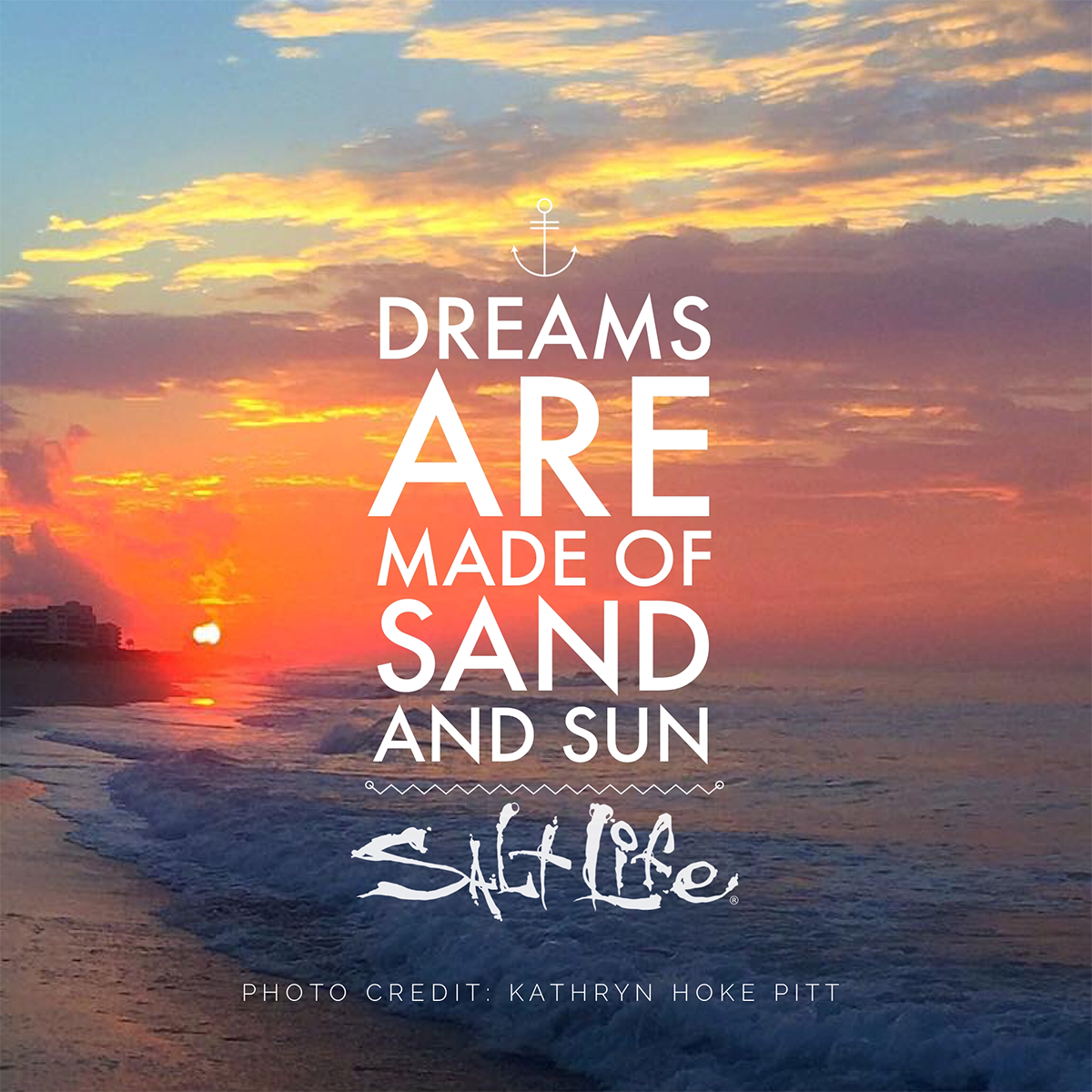 Dreams are made of sand and sun.. #LiveTheSaltLife | Beach Quotes ...