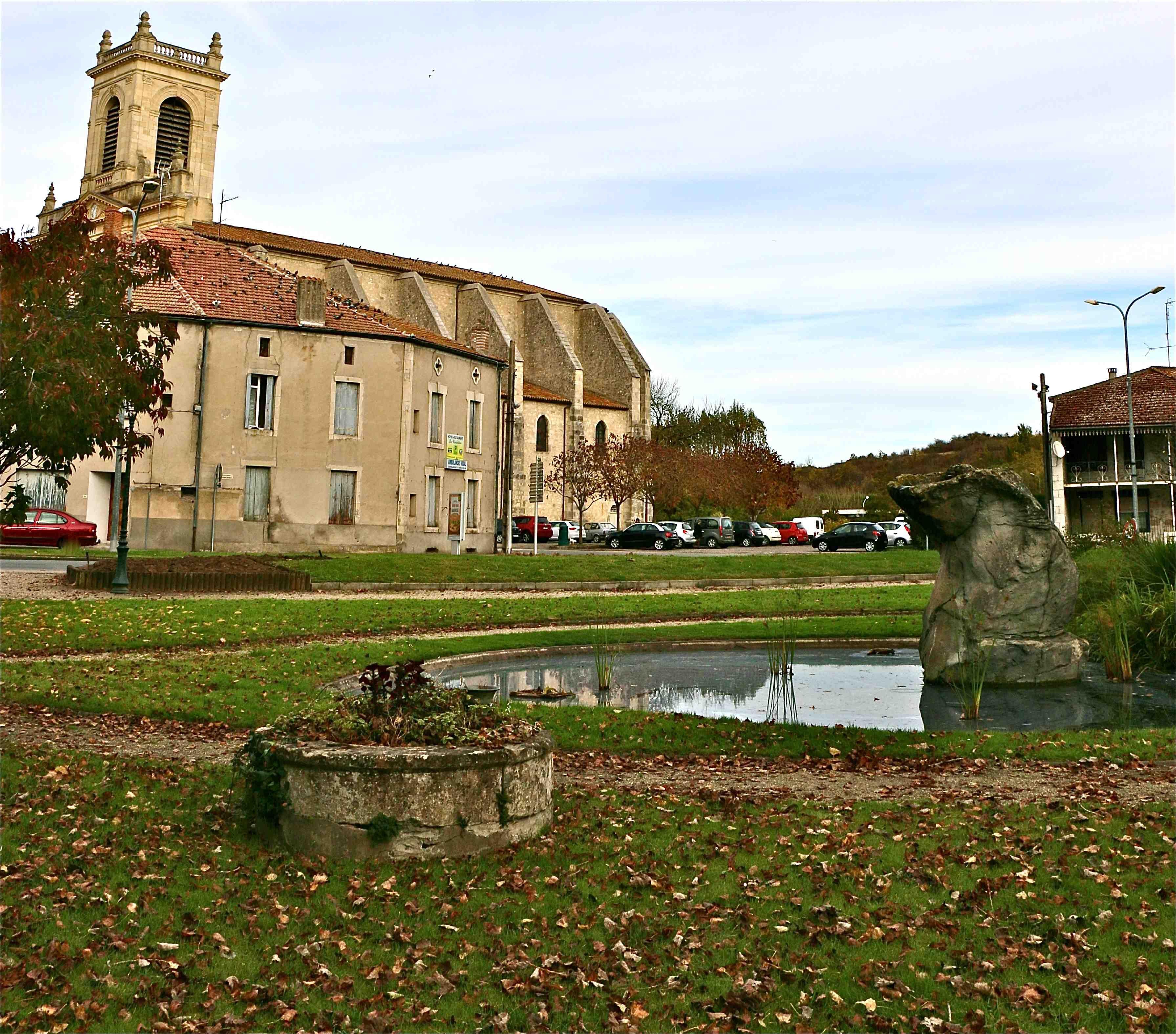 Photo de casteljaloux 47700 eglise vue du parc lot et - Office tourisme casteljaloux ...