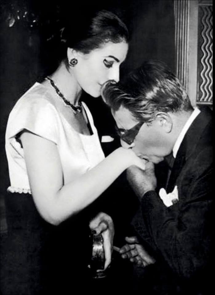 Maria Callas Aristoteles Onassis Personlichkeiten Schwarz Weiss