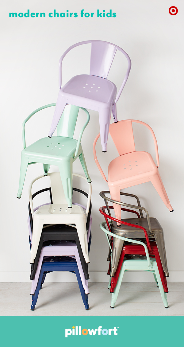 Give A Kidu0027s Room Or Playroom A Much Needed Splash Of Color With  Pillowfortu0027s Vibrant Activity Chairs In A Range Of Colors. Theyu0027re Easily  Stackable, ...