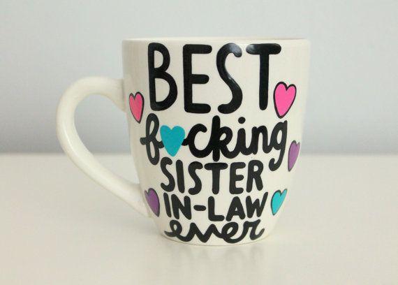 Sister In Law Mug Birthday Gift Funny