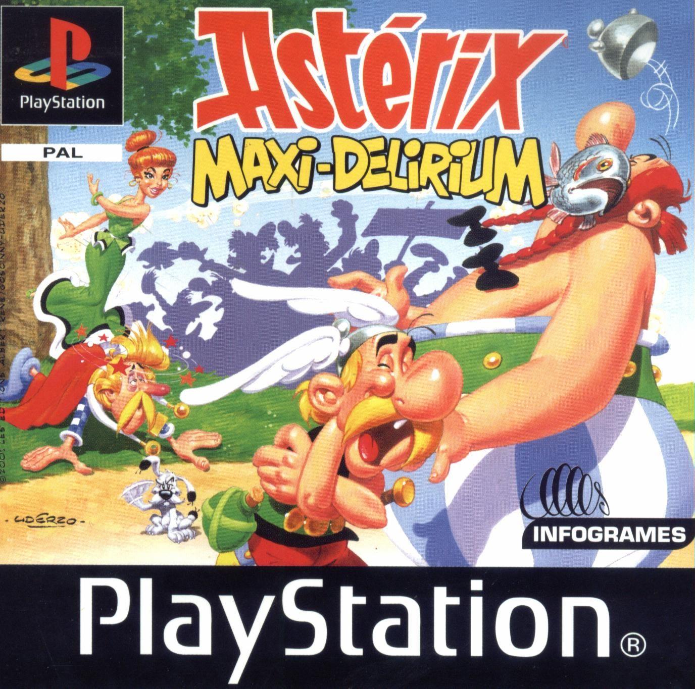 Asterix maxi delirium Immagini