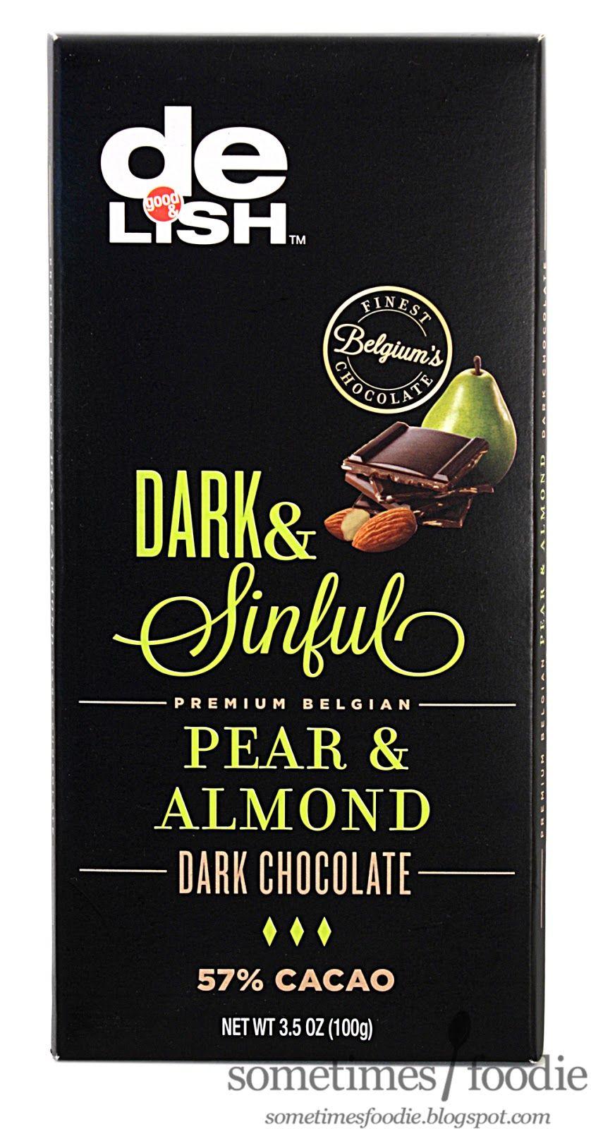 Good delish dark sinful pear almond walgreens