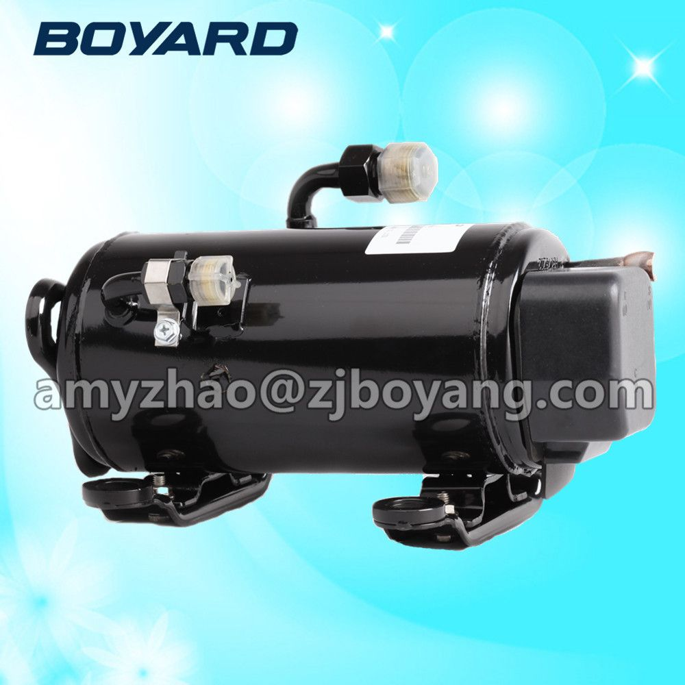 Dc 12v 24v auto ac compressor for recreational vehicles