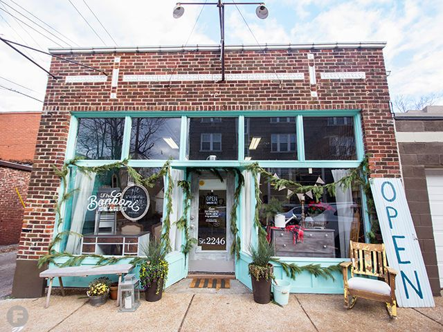 A The Chic Storefront Of Bonboni Home U0026 Gift Co. In St. Louis,