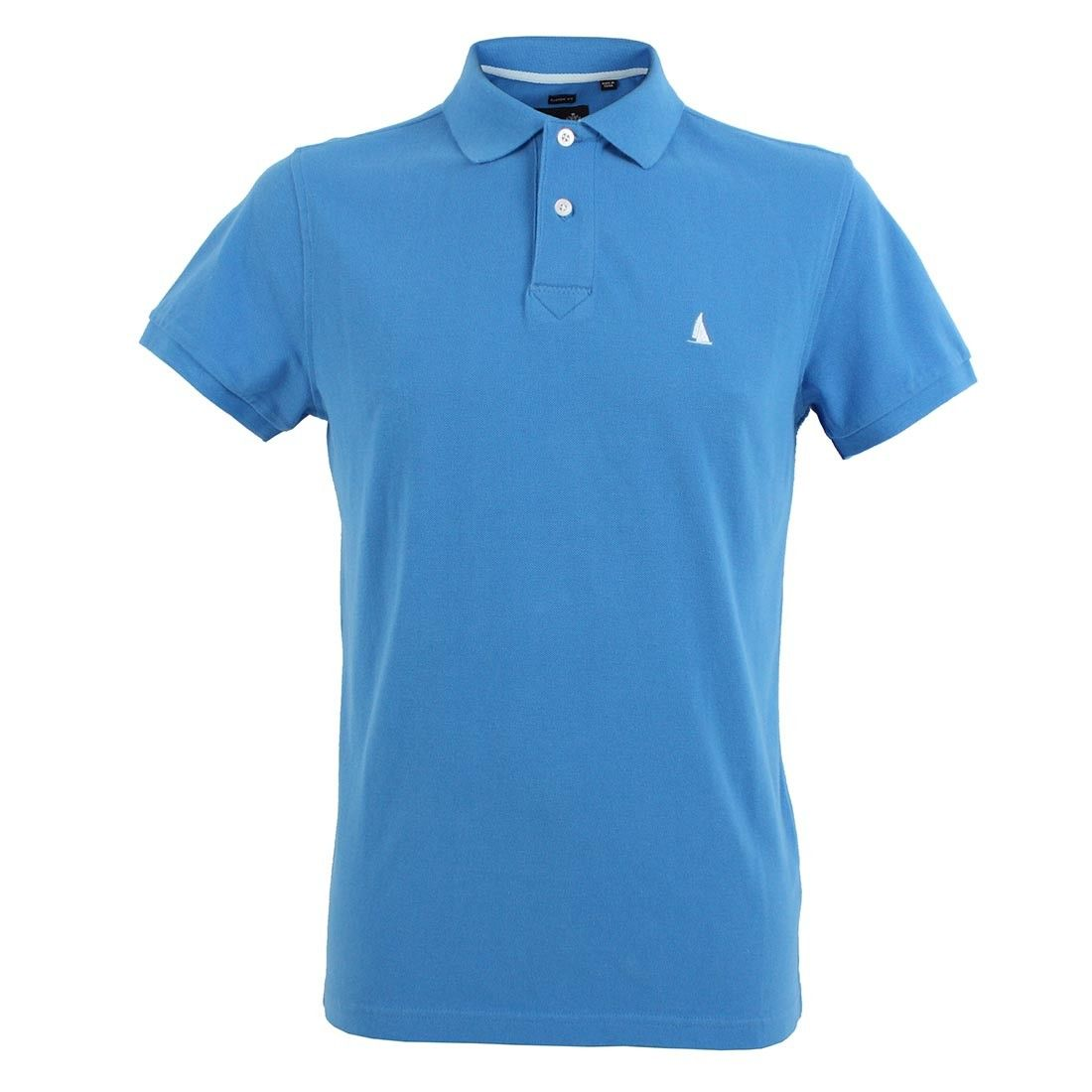 Musto Gybe Polo Shirt French Blue | Naylors.com