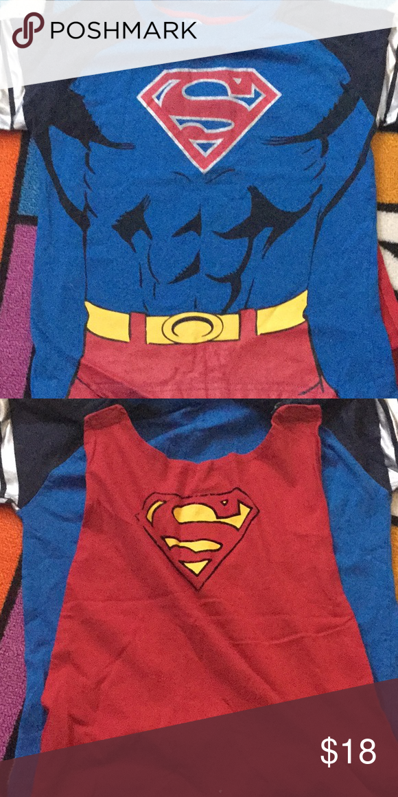 c02ffa145 Toddler Boys Superman T-shirt 5T Excellent preloved condition! T-shirt also  has a cape attached that can be removed. Super cute DC Comics Shirts & Tops  Tees ...