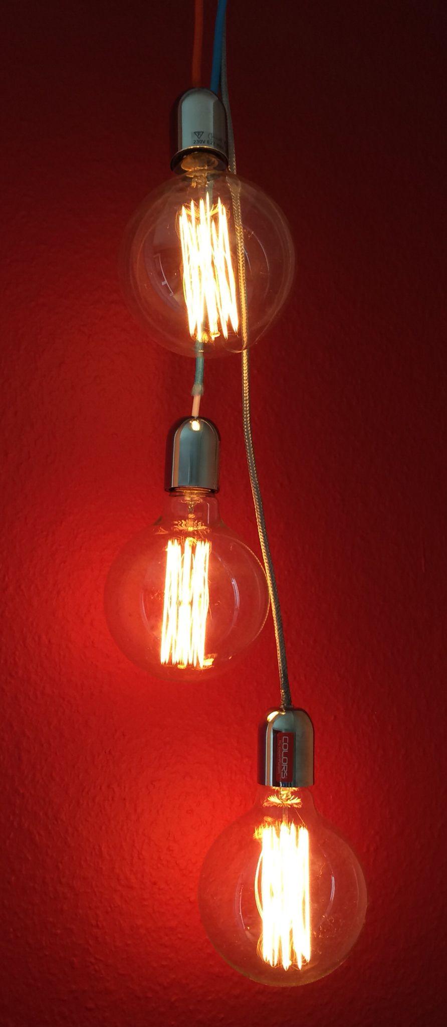 Danish design Edison light bulbs