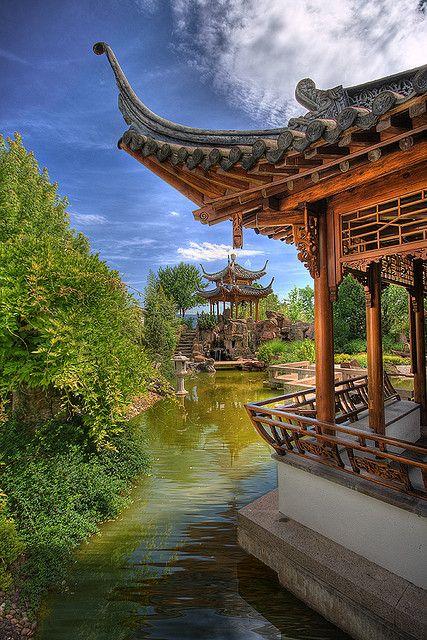 Chinese Garden Revisit Germany Chinesischer Garten