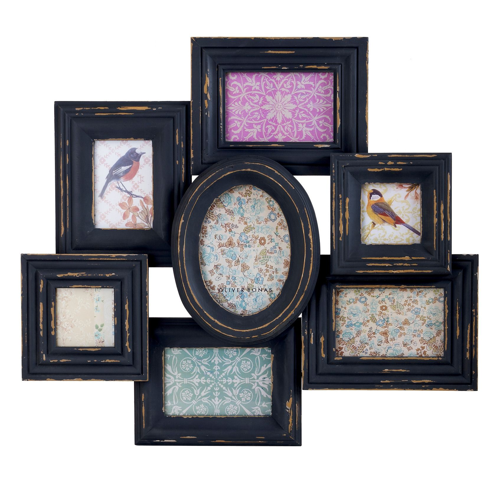 Wood Multi Wall Frame Unique Photo Frames Amp Albums