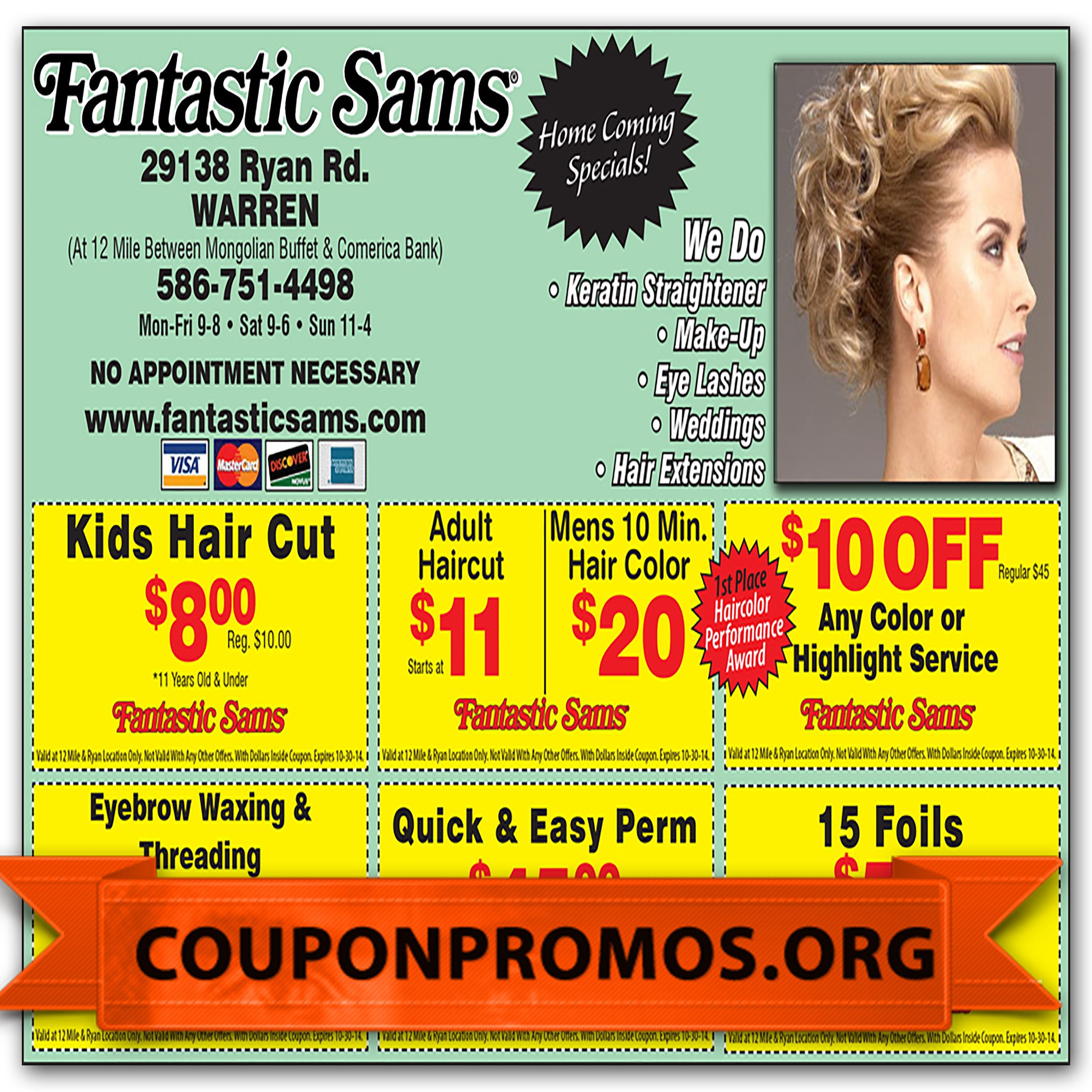 graphic relating to Fantastic Sams Printable Coupon named free of charge outstanding sams discounted discount coupons printable for November