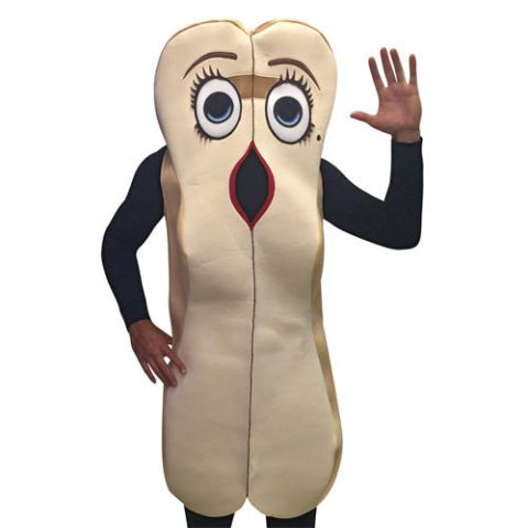 Sausage Party Frank Wiener Shaped Hot Dog Mask Halloween Rasta Imposta