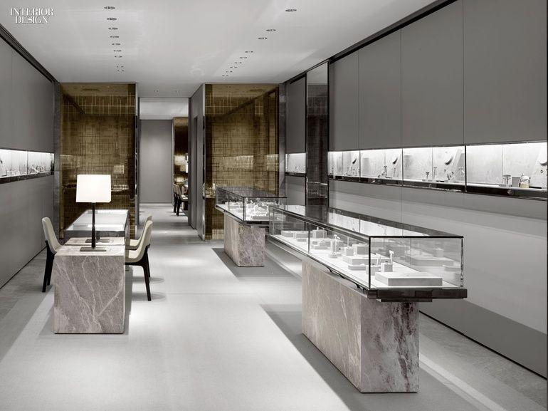 Iida Award Winner Mark Lash Toronto Flagship By Burdifilek Interior Design Competition Shop Interior Design Jewelry Store Design