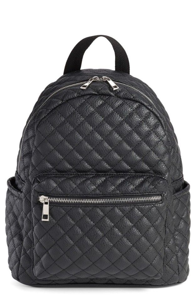 29 Awesome Backpacks You'll Actually Want To Use   Black backpack ... : black quilted rucksack - Adamdwight.com