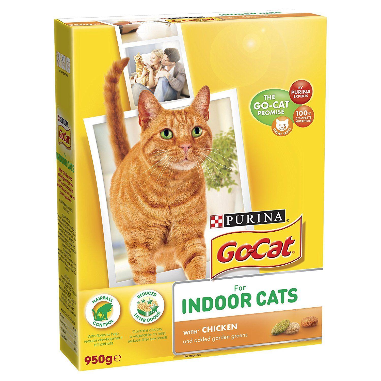 GoCat Indoor Chicken, Vegtables and Garden Greens 950 g