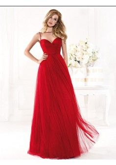 A-line High Neck Sleeveless Tulle Red Prom Dress With Beading #FJ925 - See more at: http://www.victoriasdress.com/prom-dresses/red-prom-dresses.html#sthash.2WuIofHn.dpuf