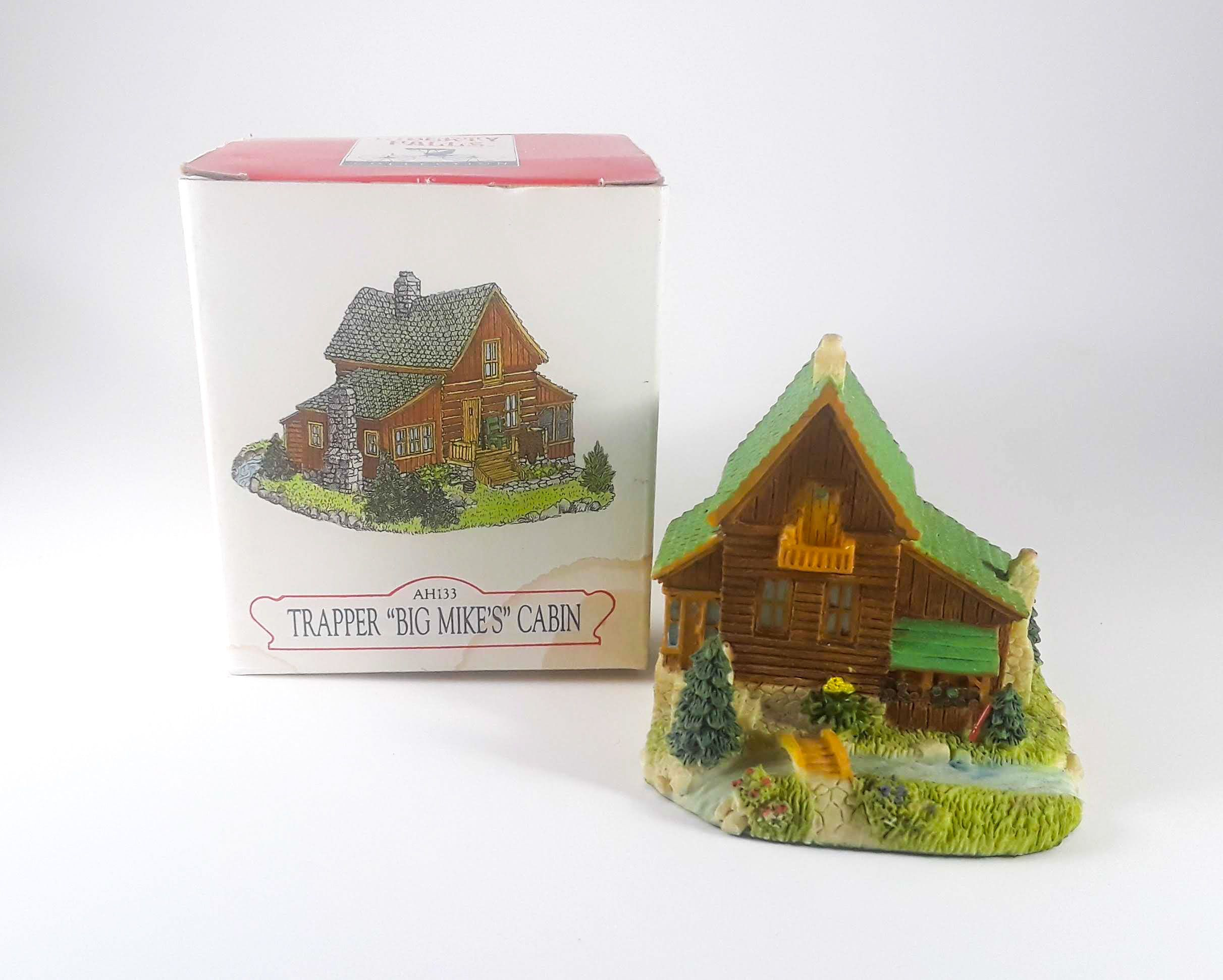 """AH133 Liberty Falls Collection  Trapper /""""Big Mike/'s/"""" Cabin"""