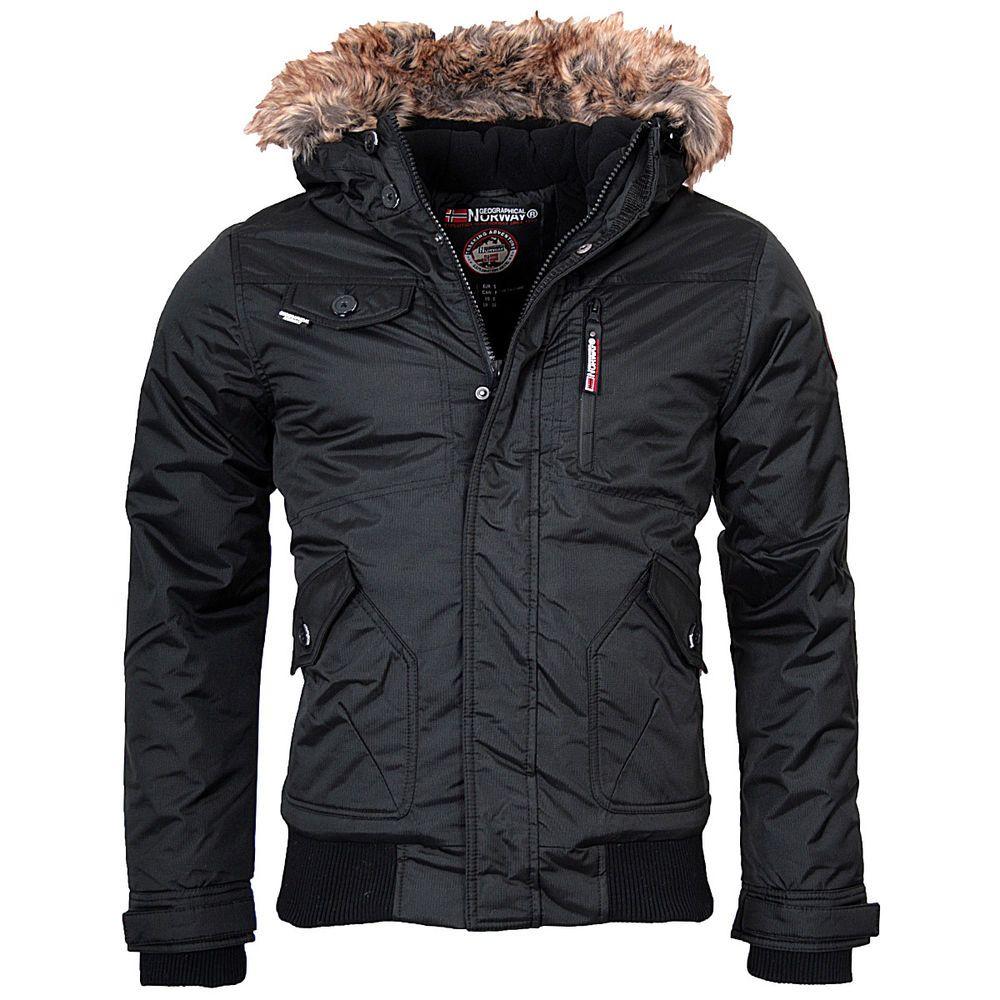 GEOGRAPHICAL NORWAY SEHR warm Herren Winter Jacke Parka Wintermantel Anorak Neu