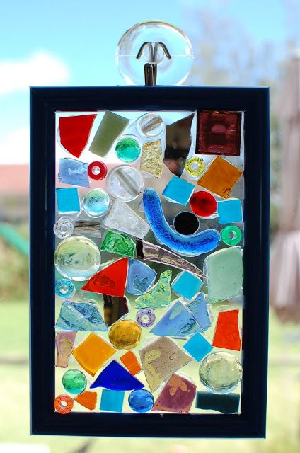 Sunnyside Art House   Glass Mosaic Suncatcher