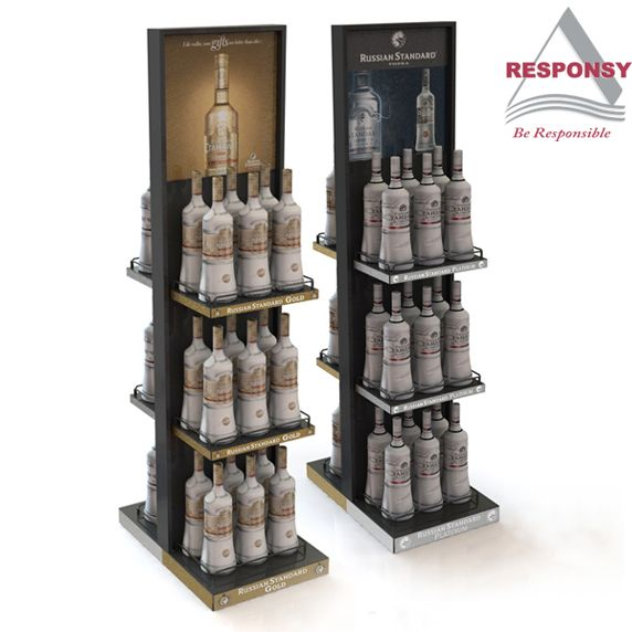 Customized design wine display stand, OEM and ODM service provided. We are Disney authorized factory, reliable, responsible, professional and efficient; we provide 2 years of after-sales quality warranty. Click http://www.responsydisplay.com/Products-36-86–1–1.html to view more products!