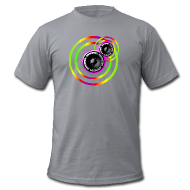 Magliette ~ T-shirt da Uomo American Apparel ~ WOOFERS