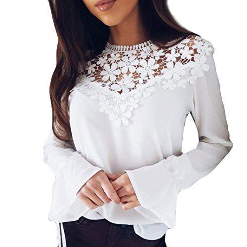 9bb0ed31978ec8 SUCES Damen Langarm Hemd Freizeit V-Ausschnitt Bluse Frauen Frühling  Oberteile Elegant Business Oberteile Slim