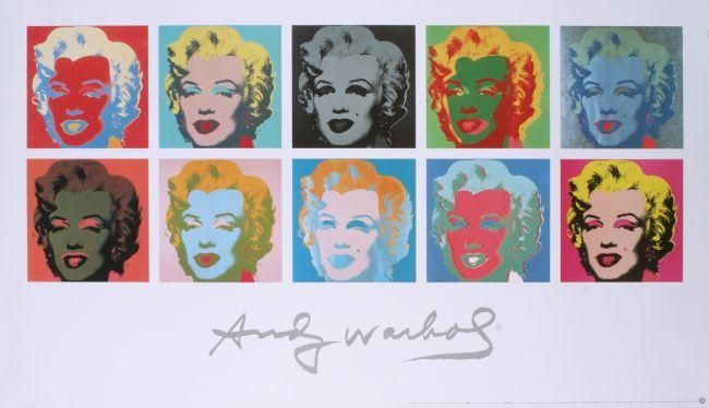"""""""10 Marilyns on White Background"""" - Marilyn Monroe posters and prints available at Barewalls.com"""