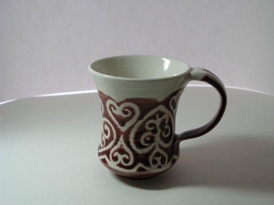 coffee cup, coffee mug, tea cups, pottery coffee mug, handmade pottery |Pinned from PinTo for iPad|