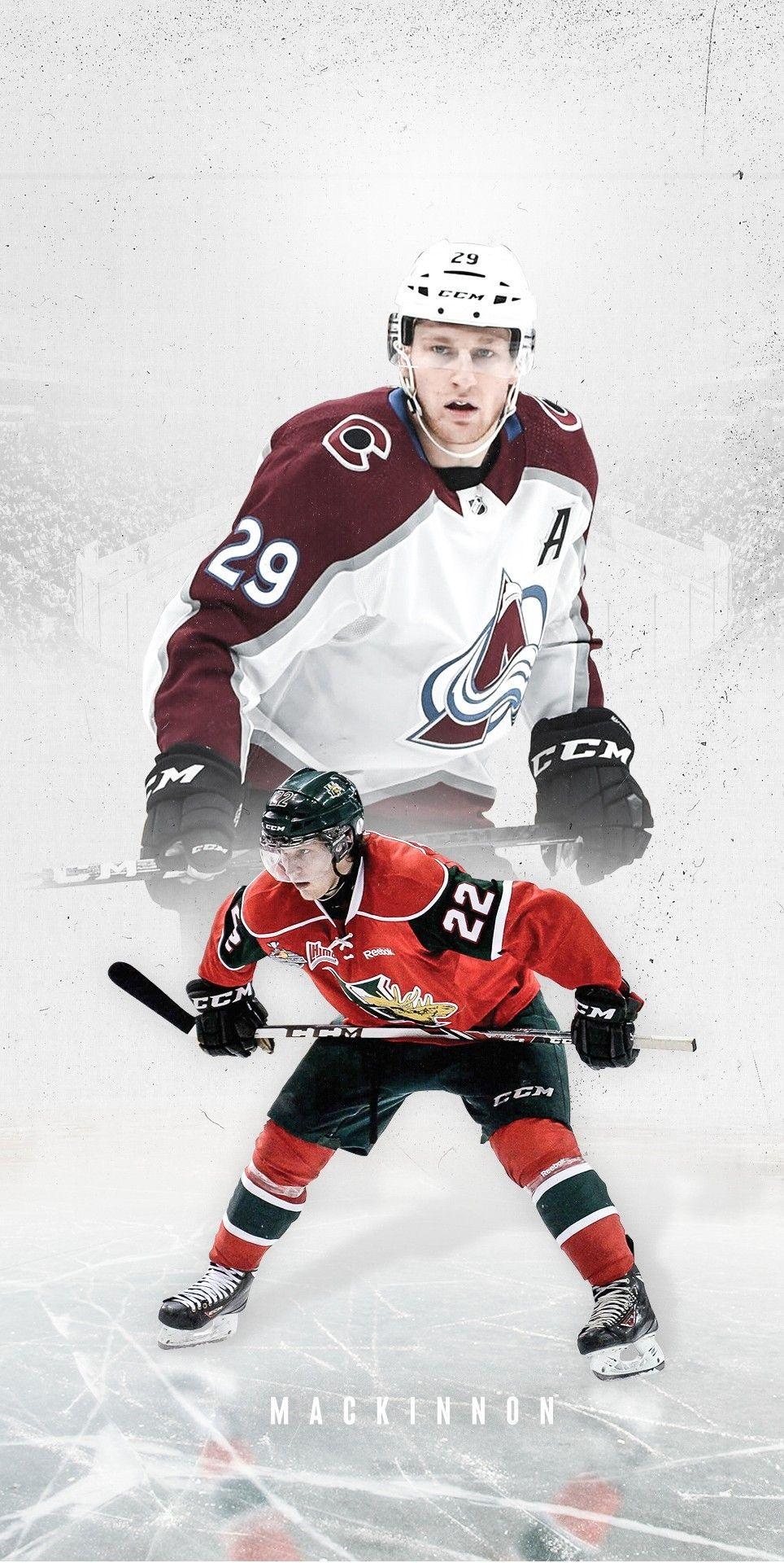 Pin By Andre Donadio On Nathan Mackinnon In 2021 Colorado Avalanche Samurai Gear Hockey