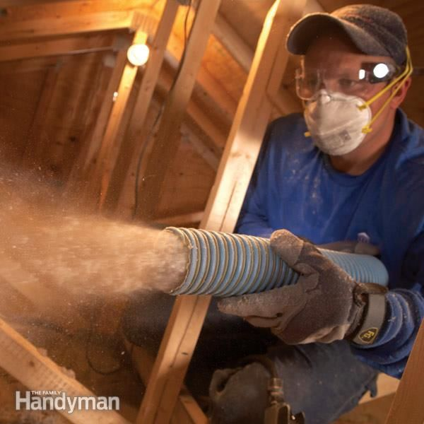 Saving Energy Blown In Insulation In The Attic Attic Insulation Attic Blown Insulation Blown In Insulation