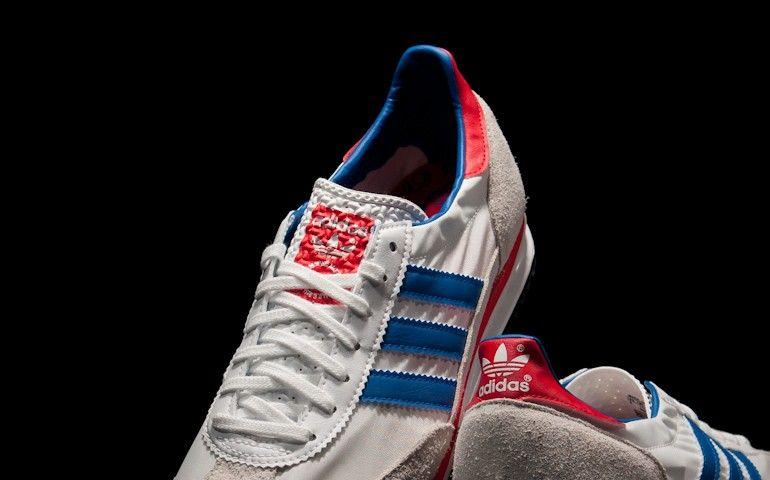 Adidas SL 72 blanco / azul productos que Pinterest Adidas SL