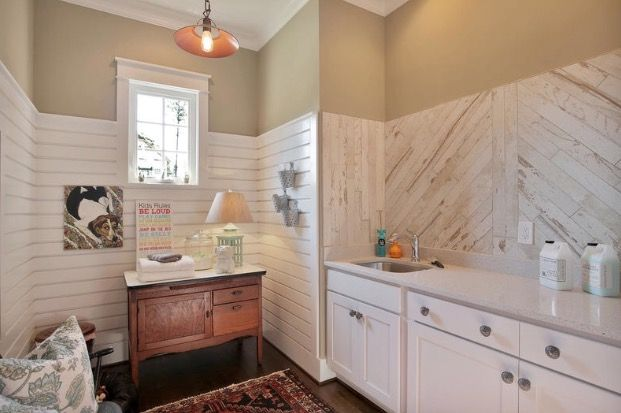 Wainscoting | Dream bathroom, Home decor, Kitchen cabinets