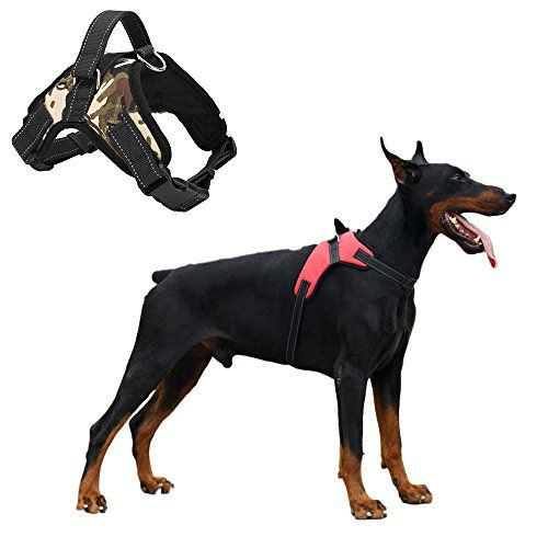 Mrdog No Slip Dog Harness With D Ring Quick Release Buckles For