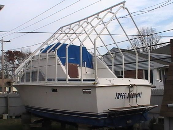 PVC Boat Winter Storage Ideas